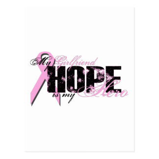 Girlfriend My Hero - Breast Cancer Hope Postcard