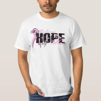 Girlfriend My Hero - Breast Cancer Hope T-Shirt