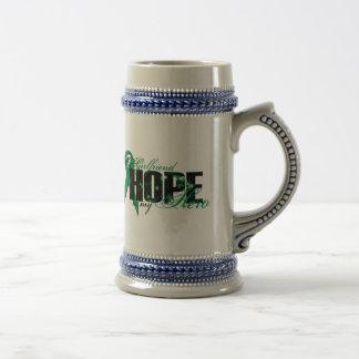 Girlfriend My Hero - Kidney Cancer Hope Beer Stein