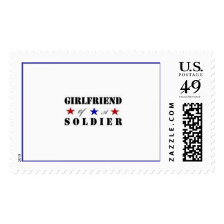 Girlfriend Of A Soldier Postage