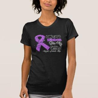 Girlfriend - Pancreatic Cancer Ribbon Tee Shirt