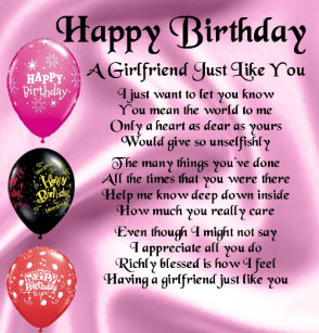 what to do for girlfriends birthday