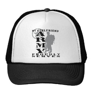 Girlfriend Proudly Serves - ARMY Trucker Hat