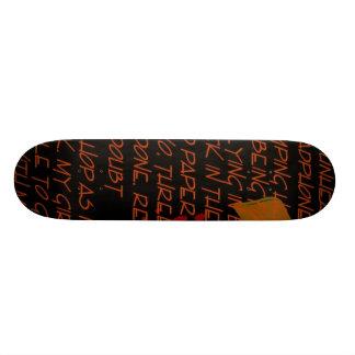 girlfriend skateboard deck