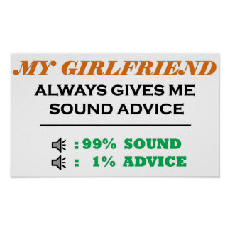 Girlfriend Sound Advice Full Poster