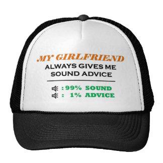 Girlfriend Sound Advice Full Trucker Hat