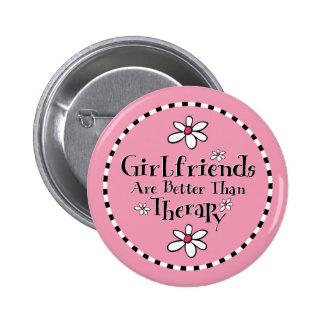 Girlfriend Therapy 2 Inch Round Button