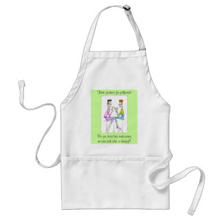 Girlfriend Therapy by Collene Kennedy Adult Apron