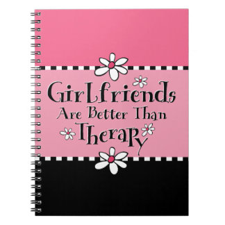 Girlfriend Therapy Notebook