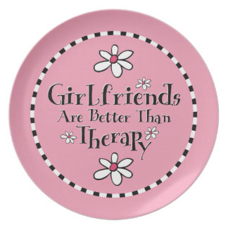 Girlfriend Therapy Plate