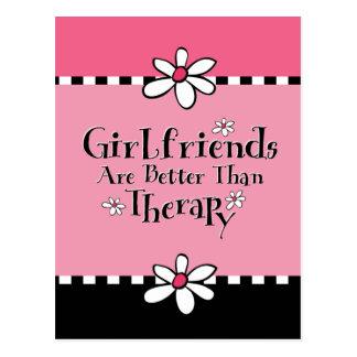 Girlfriend Therapy Postcard