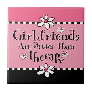 Girlfriend Therapy Tile