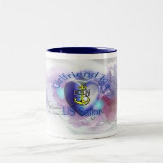 Girlfriend to Sailor Coffee Mug