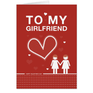 Lesbian Valentine Day Cards  Greeting  Photo Cards  Zazzle