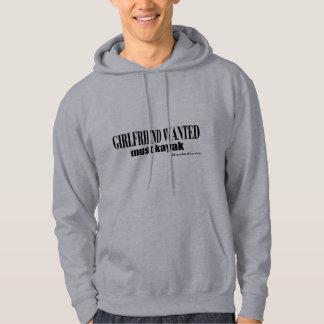 girlfriend wanted hoodie
