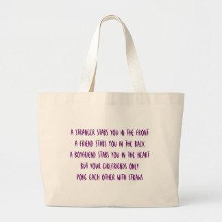 Girlfriends Jumbo Tote Bag