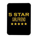 Girlfriends Birthdays Valentines 5 Star Girlfriend Magnet