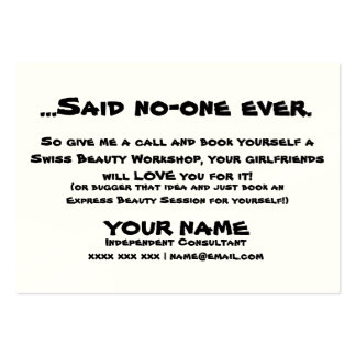 Girlfriends Large Business Card
