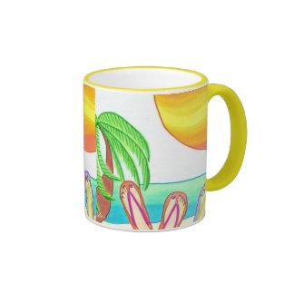 Girlfriends on Vacation Coffee Mugs