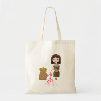 girlheartbear canvas bag