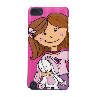 Girlie cuddles pink ipod touch case