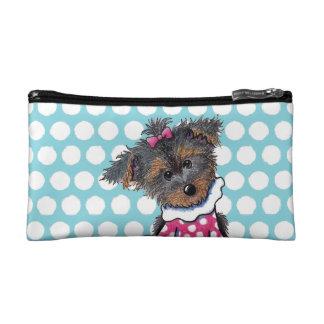 Girlie Girl Yorkie Cosmetic Bags