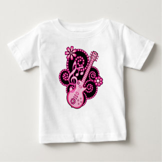 Girlie Guitar Baby T-Shirt