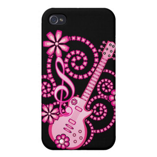 Girlie Guitar iPhone 4/4S Case