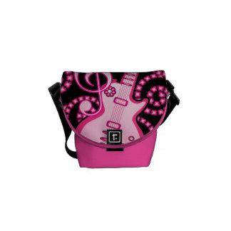 Girlie Guitar Messenger Bag
