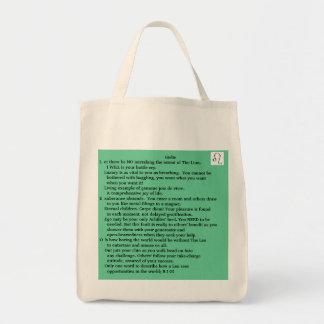 Girlie LEO Jul 23-Aug 22 poem tote Bags