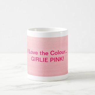 Girlie Pink Mug