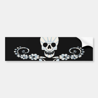 Girlie Pirate Bumper Sticker