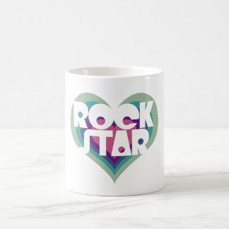 Girlie Rock Star Heart Coffee Mug