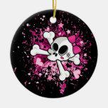 Girlie Skull Ornaments