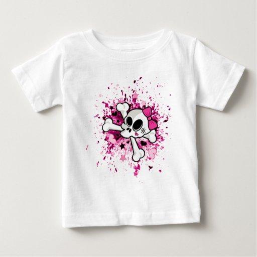 Girlie Skull T Shirt