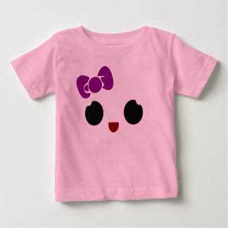 Girlie Smiley Baby T-Shirt