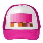 GIRLIE TEST PATTERN HAT
