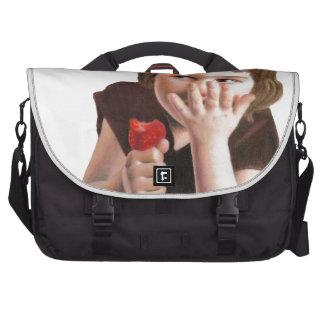 Girlish Giggles by Ana Tirolese Computer Bag