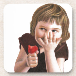 Girlish Giggles by Ana Tirolese Drink Coasters
