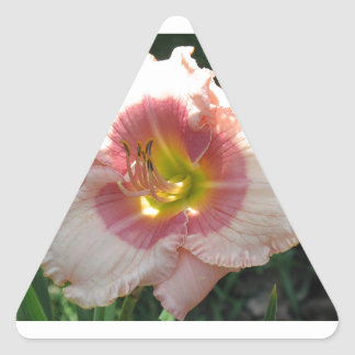 Girlish Laughter Lily Triangle Sticker