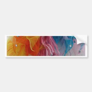 Girlish Ribbons 2 Bumper Sticker