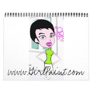 GirlPaint.com Calendar