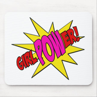 GirlPOWer Mouse Pad