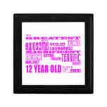 Girls 12th Birthdays : Pink Greatest 12 Year Old Gift Box