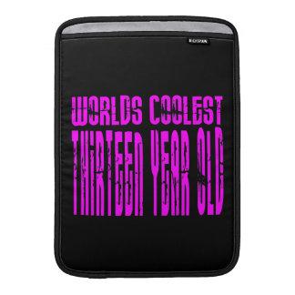 Girls 13th Birthdays Pink Worlds Coolest Thirteen Sleeves For MacBook Air