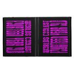 Girls 14th Birthdays Pink Worlds Coolest Fourteen iPad Case