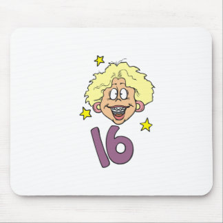 Girls 16th Birthday Gifts Mouse Pad