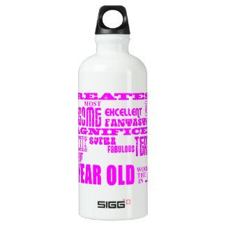 Girls 16th Birthdays : Pink Greatest 16 Year Old Water Bottle