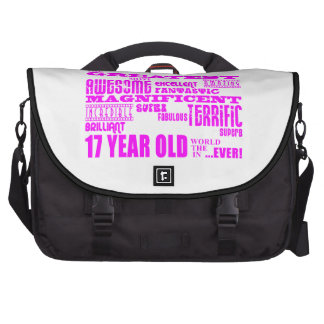 Girls 17th Birthdays Pink Greatest 17 Year Old Laptop Bags