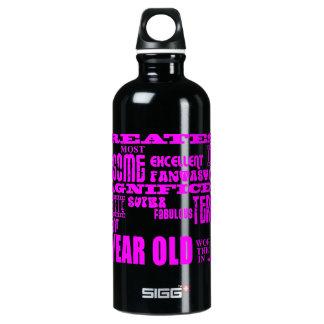 Girls 18th Birthdays : Pink Greatest 18 Year Old Water Bottle